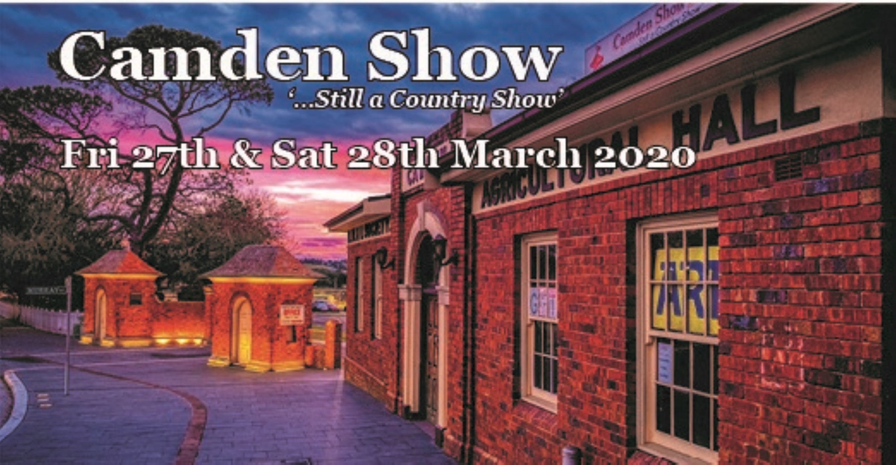 Camden Show - Accommodation in Brisbane
