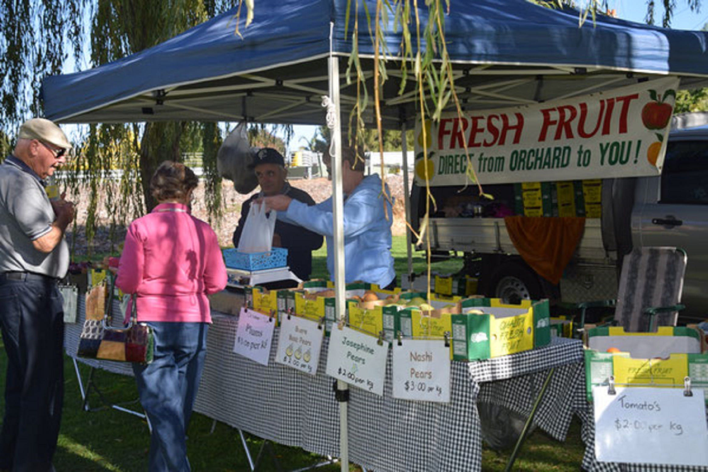 Corowa Rotary Federation Festival Market - Accommodation in Brisbane