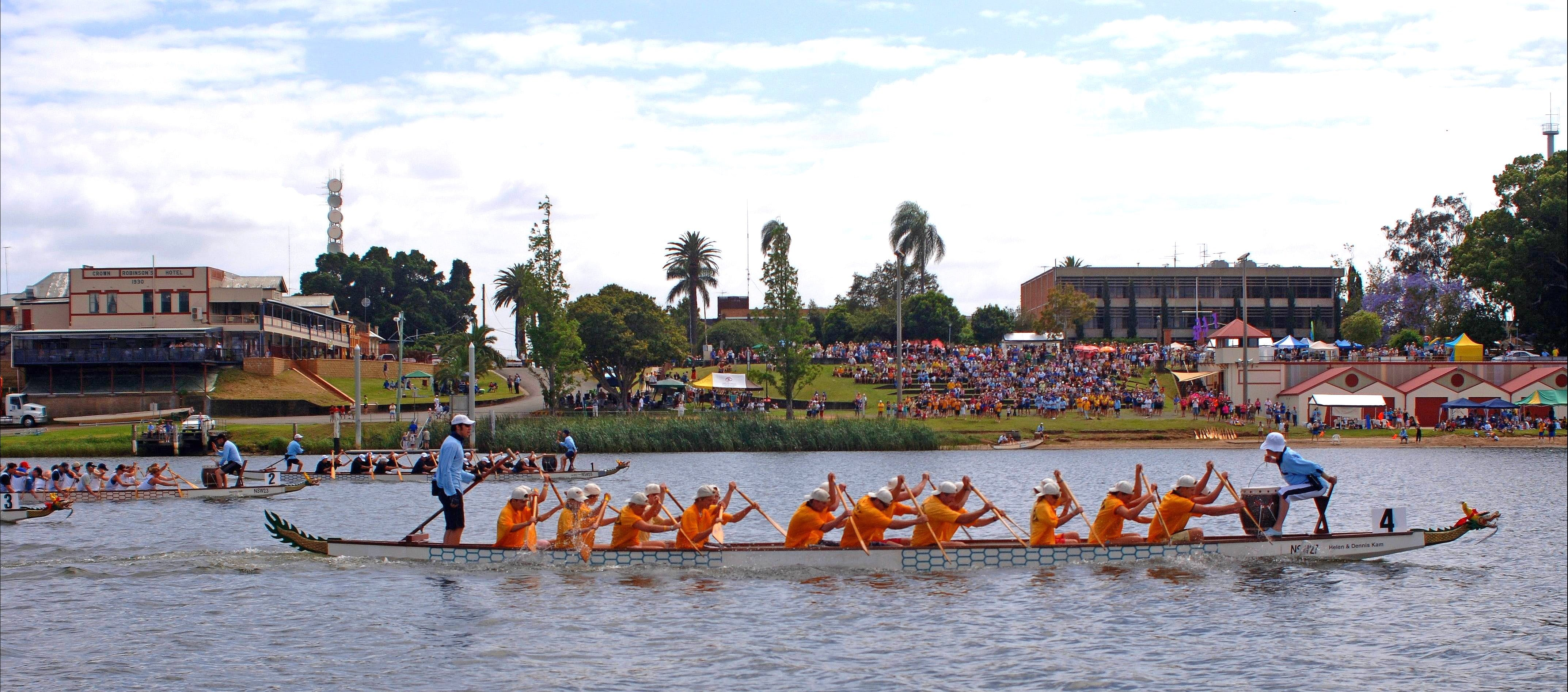 Jacaranda Dragon Boat Races - Accommodation in Brisbane