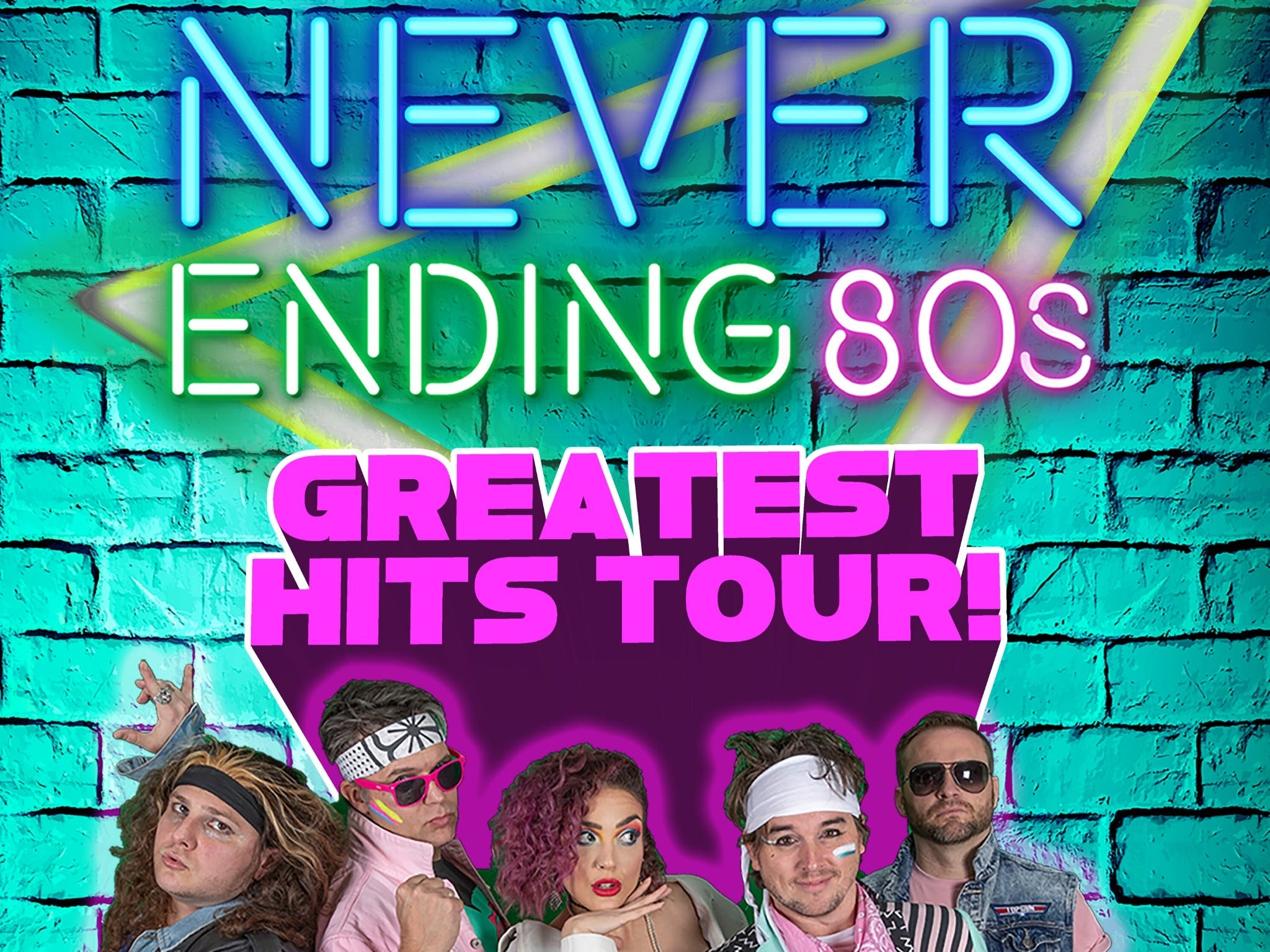 Never Ending 80s - The Greatest Hits Tour - Accommodation in Brisbane
