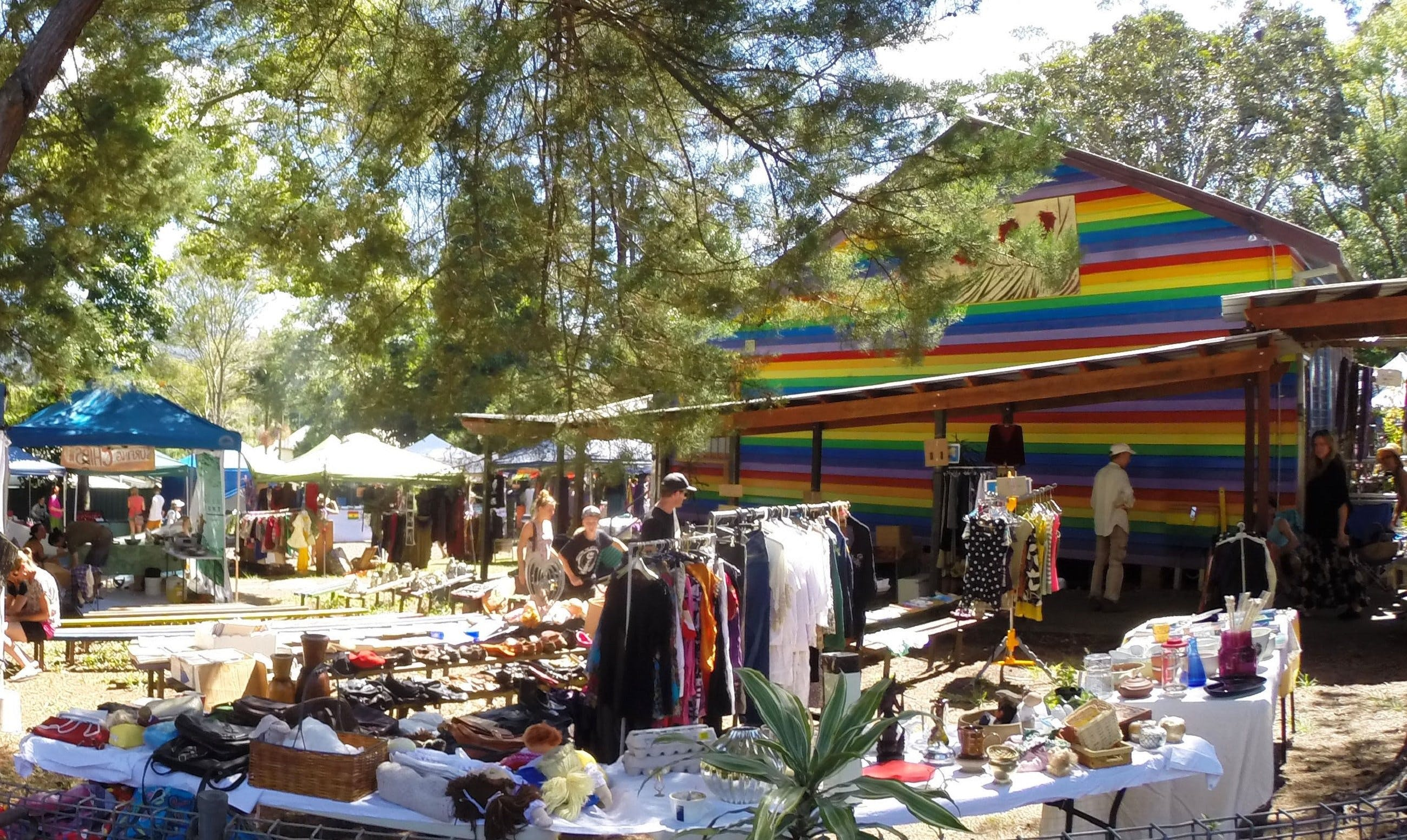 Nimbin Markets - Accommodation in Brisbane