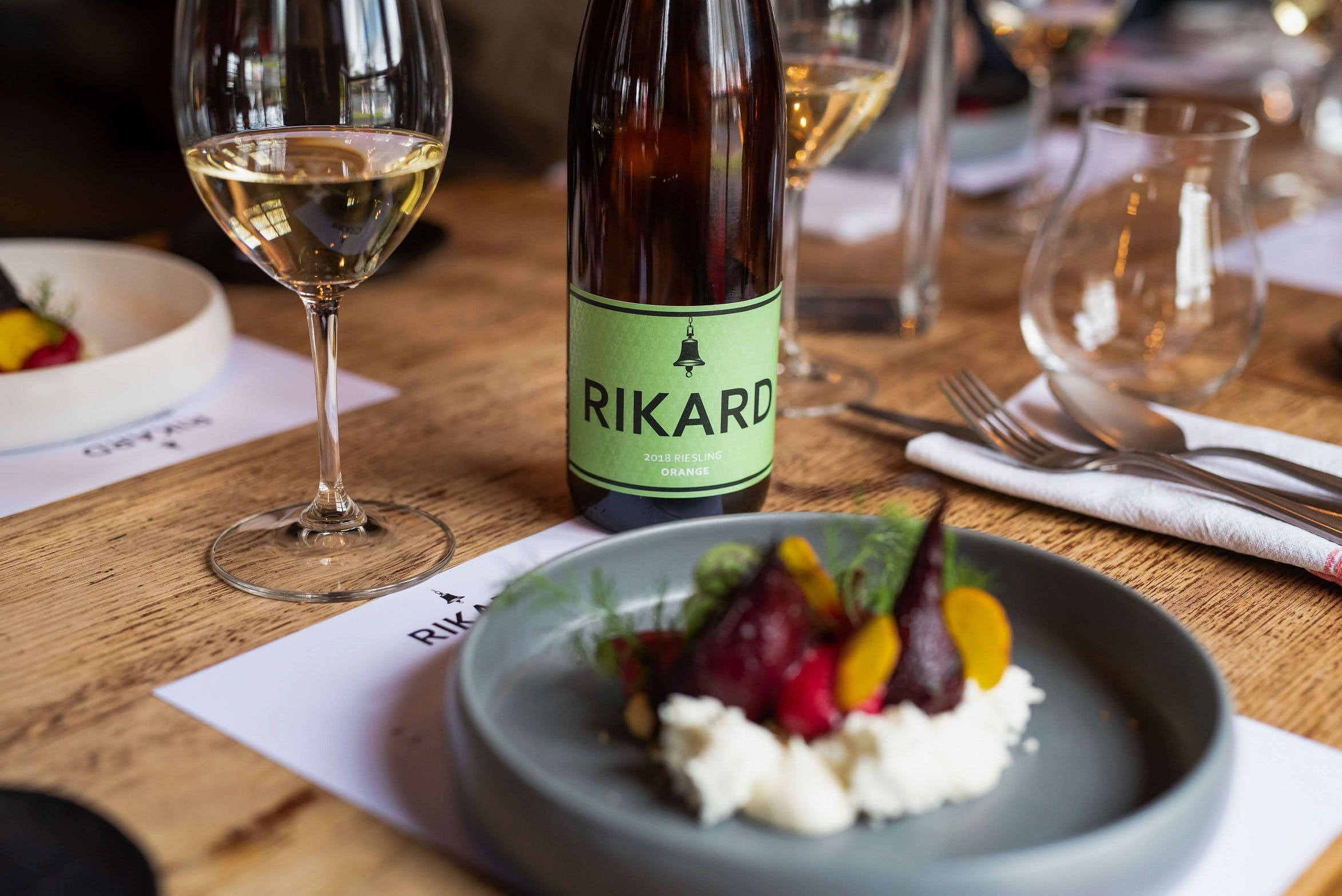 RIKARD Wines at Charred - Accommodation in Brisbane