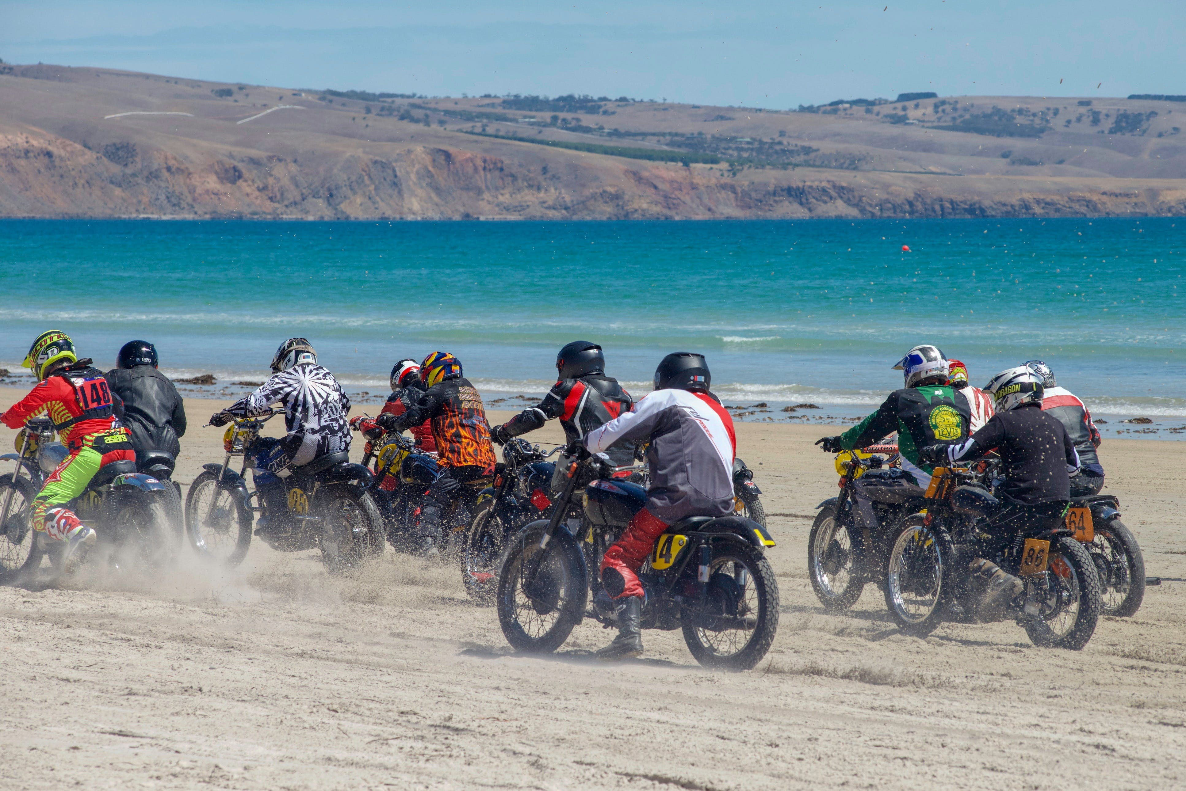Sellicks Beach Historic Motorcycle Races - Accommodation in Brisbane