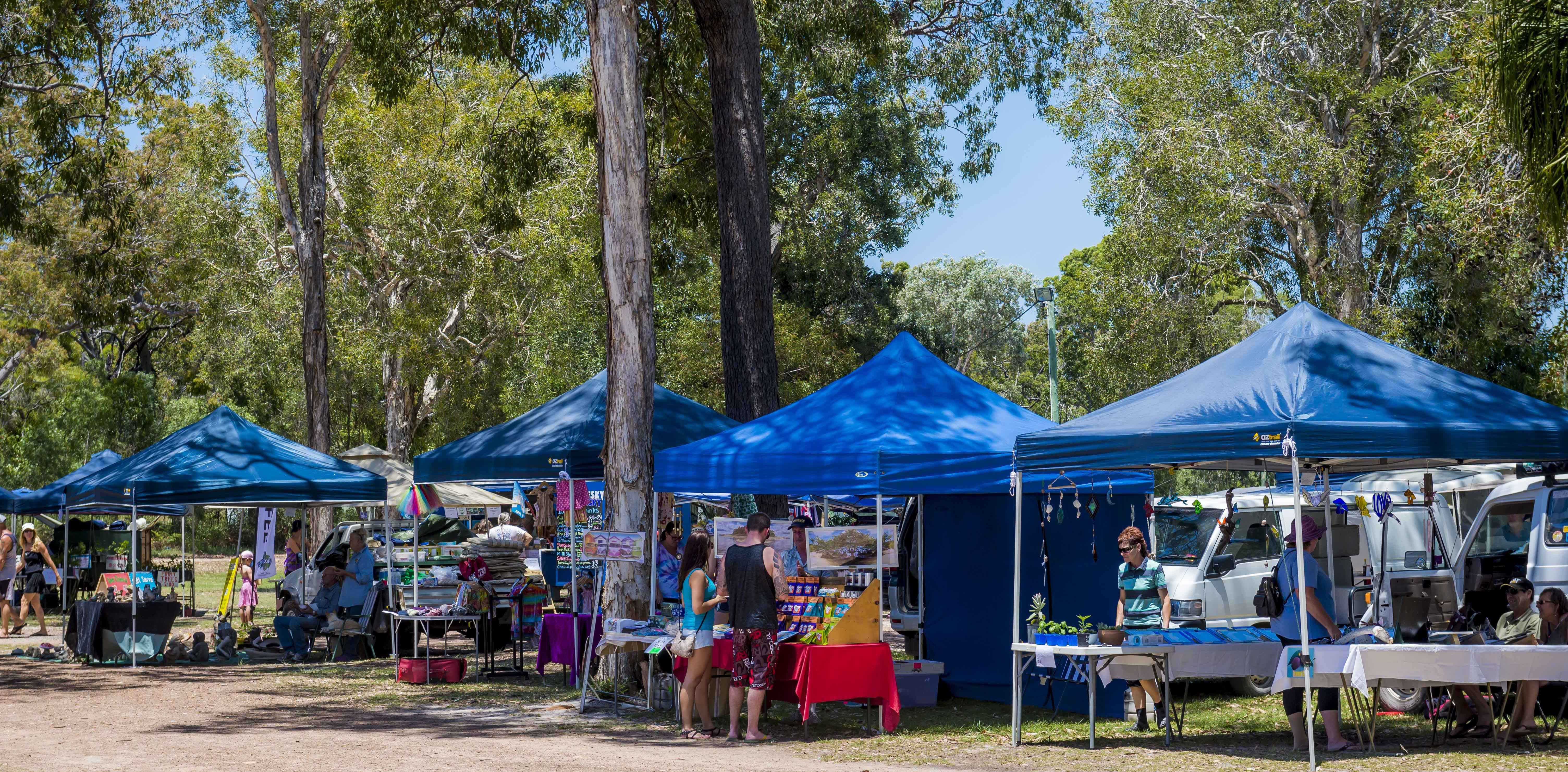 Discovery Coast Rotary Markets - Accommodation in Brisbane