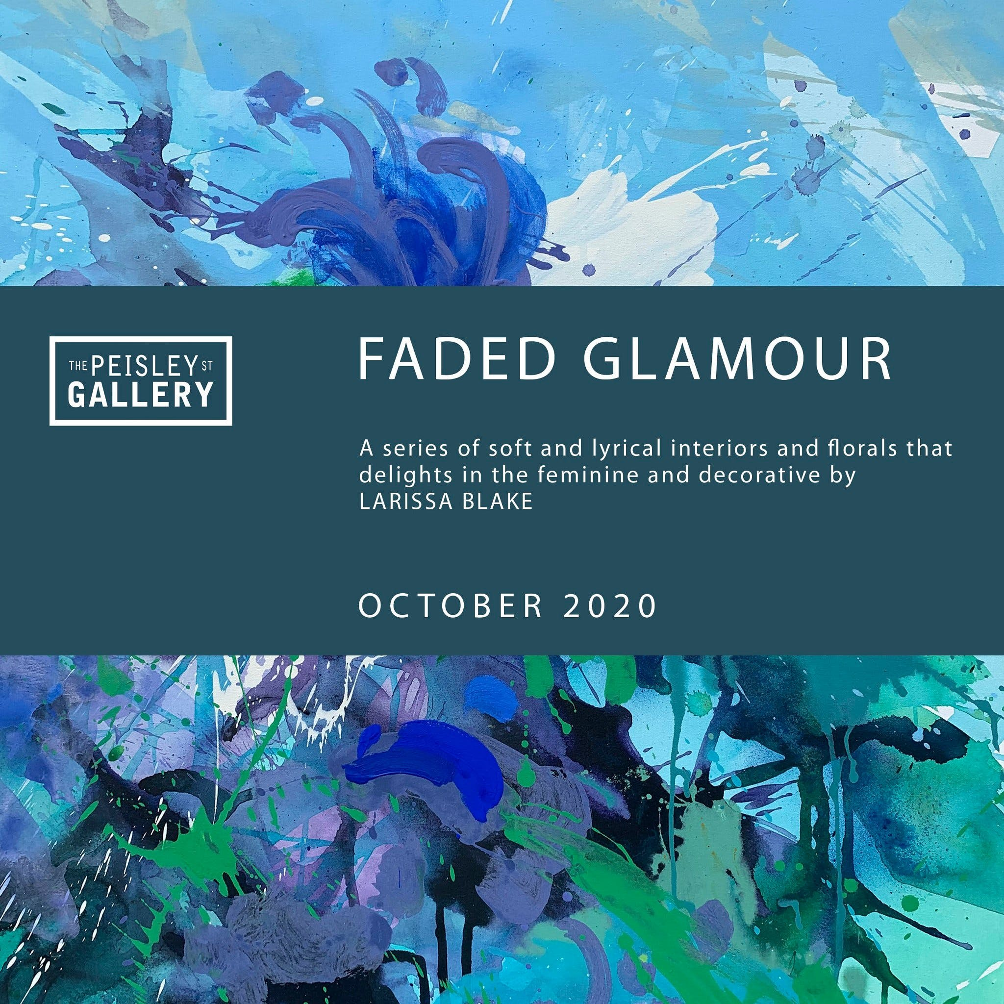 Faded Glamour - paintings by Larissa Blake - Accommodation in Brisbane