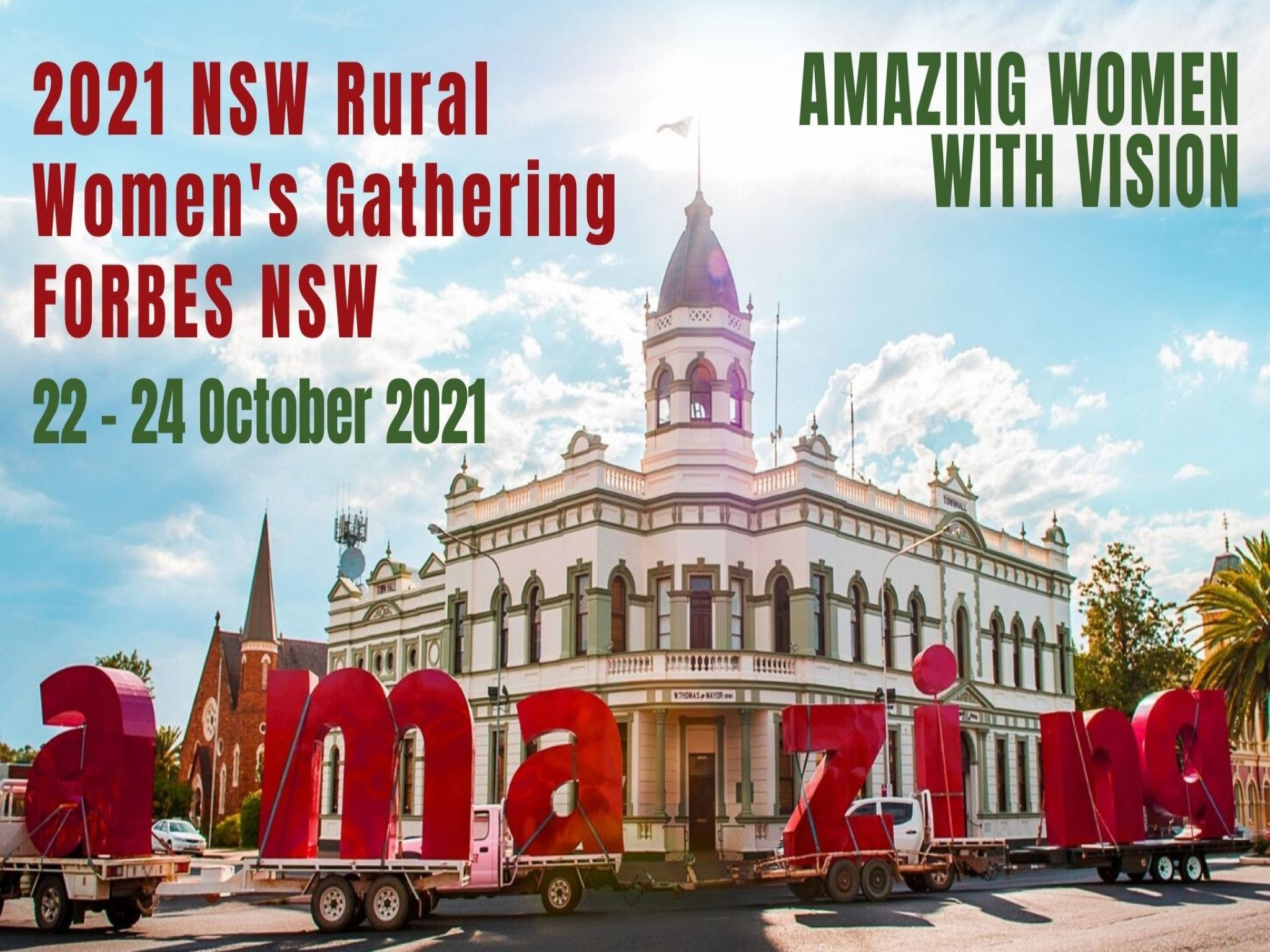 Forbes NSW Rural Women's Gathering - Accommodation in Brisbane