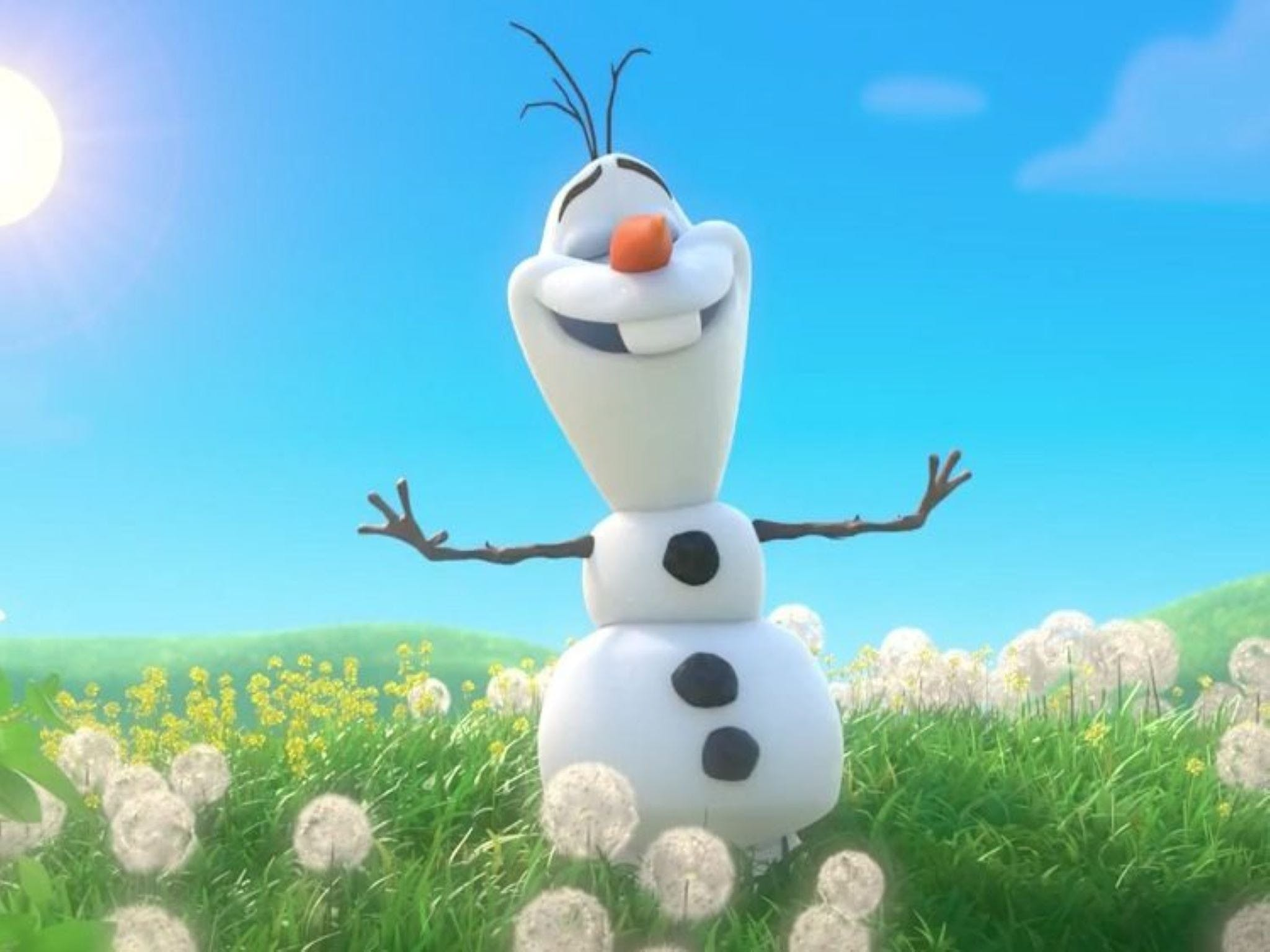 Meet Olaf from Frozen - Accommodation in Brisbane