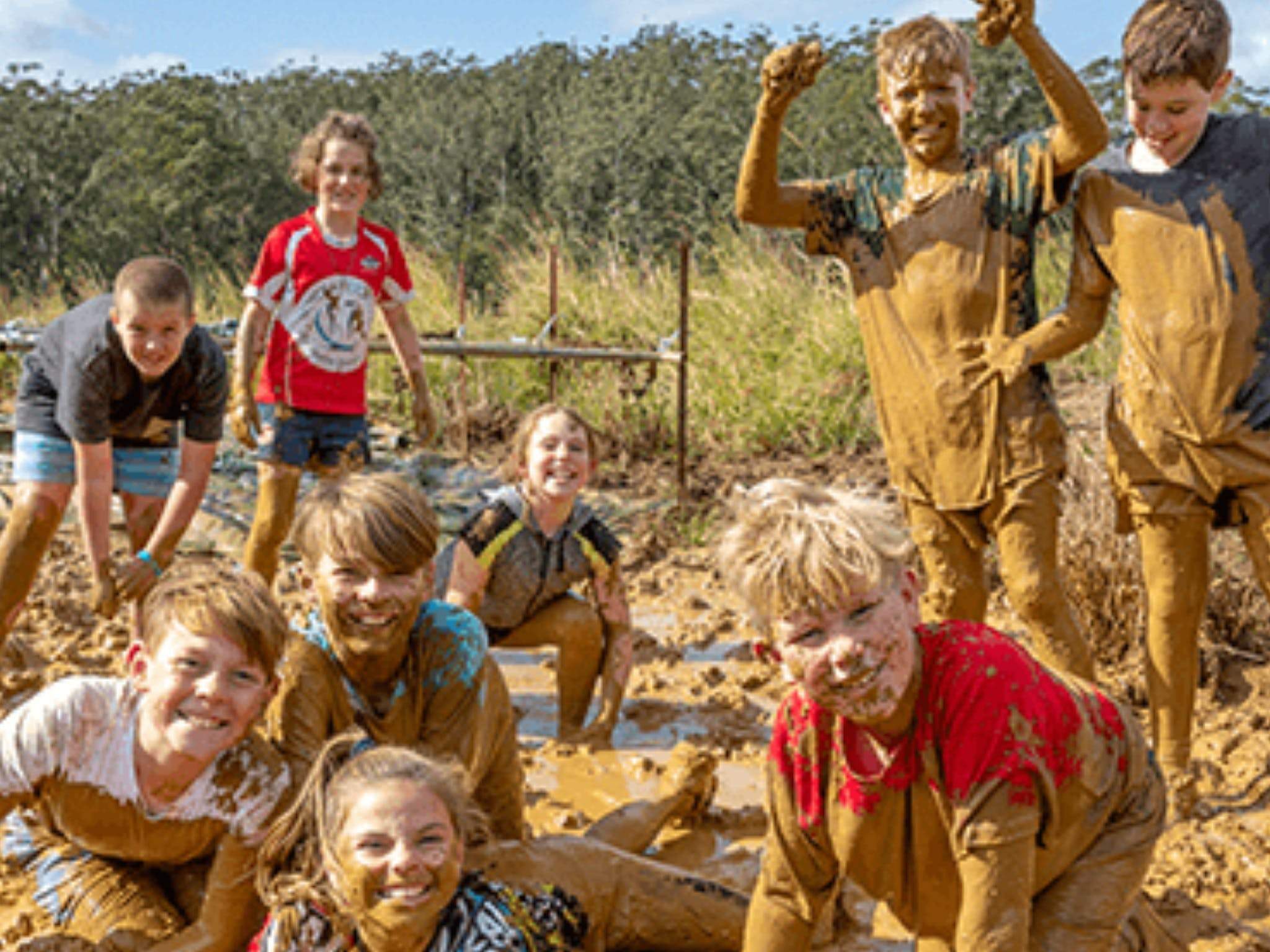 Mini Muddies Obstacle Challenge at Bunnamagoo Estate - Accommodation in Brisbane