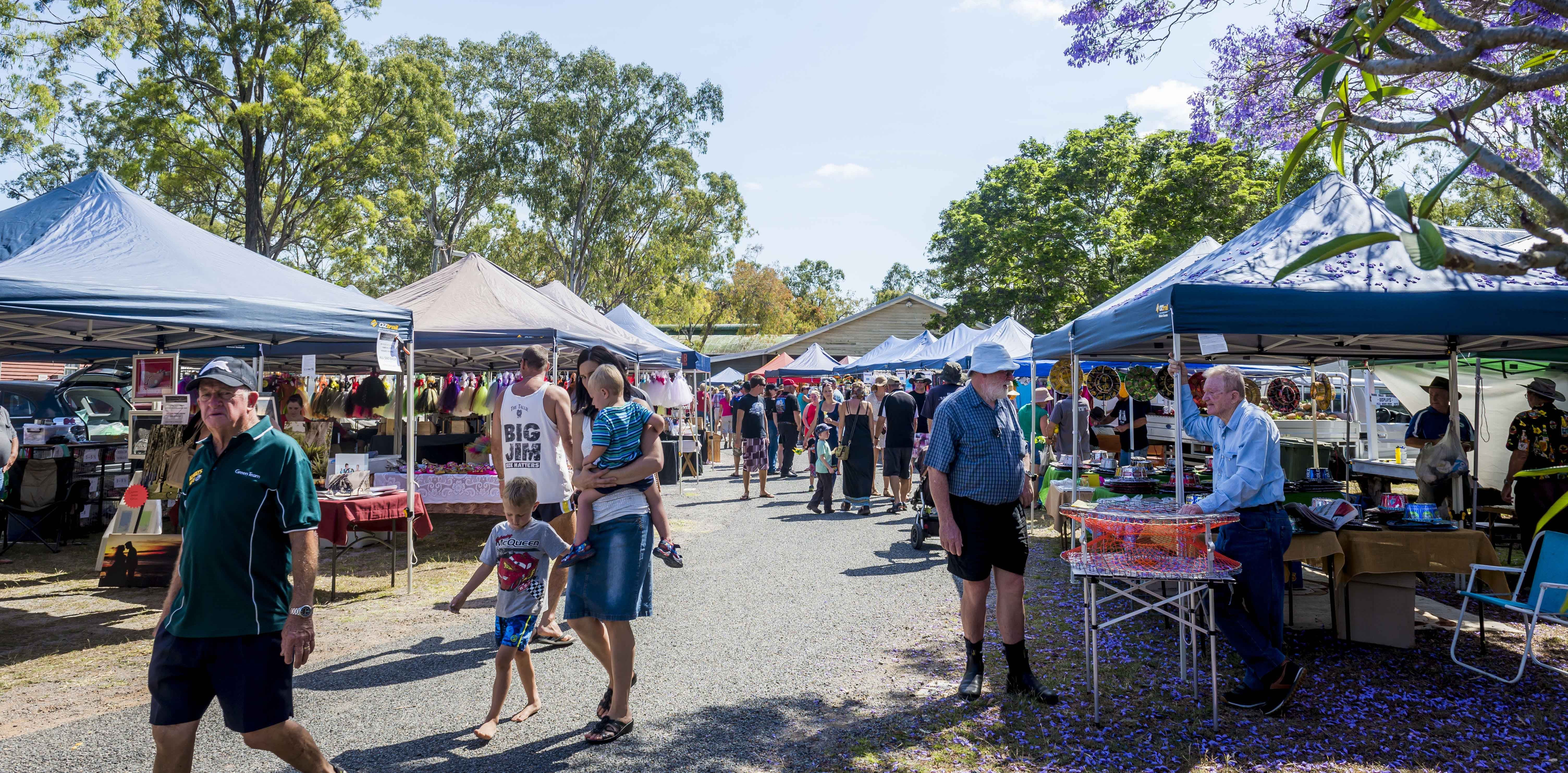 Calliope Historical Village Markets - Accommodation in Brisbane