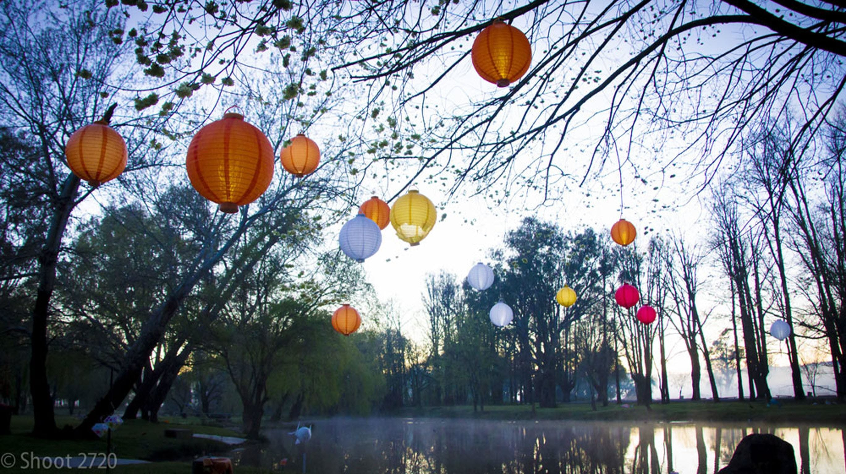 Lanterns on the Lagoon - Accommodation in Brisbane