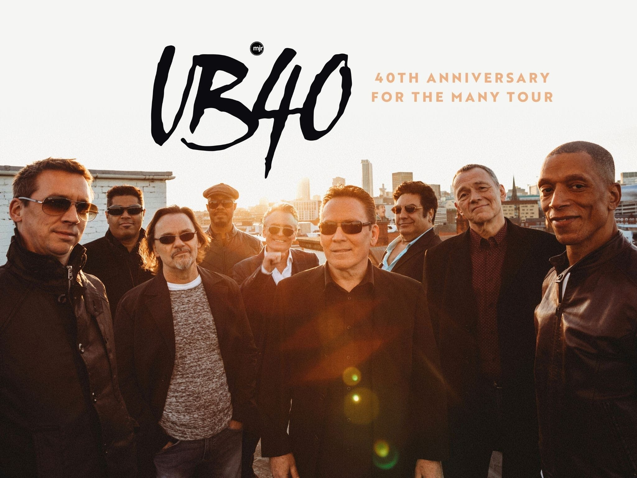 UB40 40th Anniversary Tour - Accommodation in Brisbane