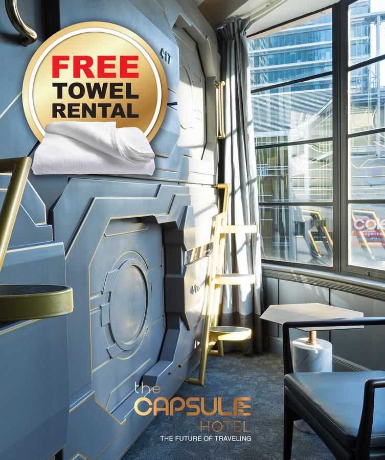The Capsule Hotel - Accommodation in Brisbane