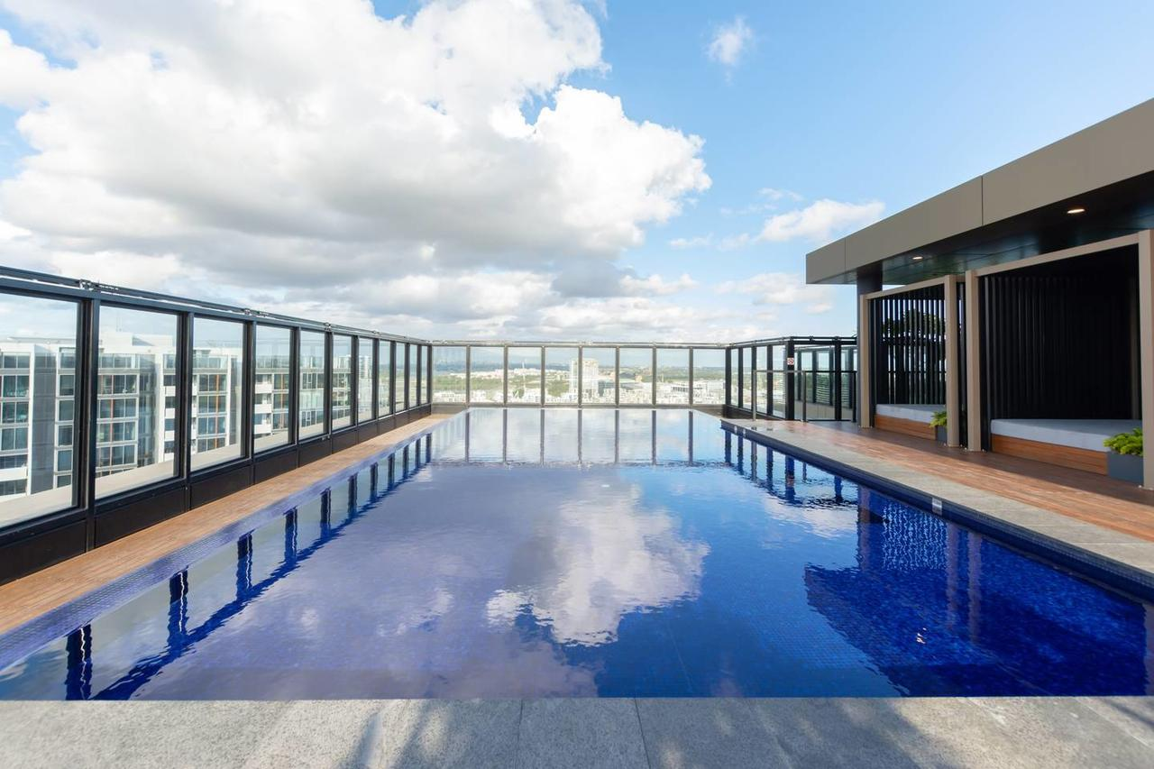 Japanese Style waterfront apt wt rooftop pool - Accommodation in Brisbane