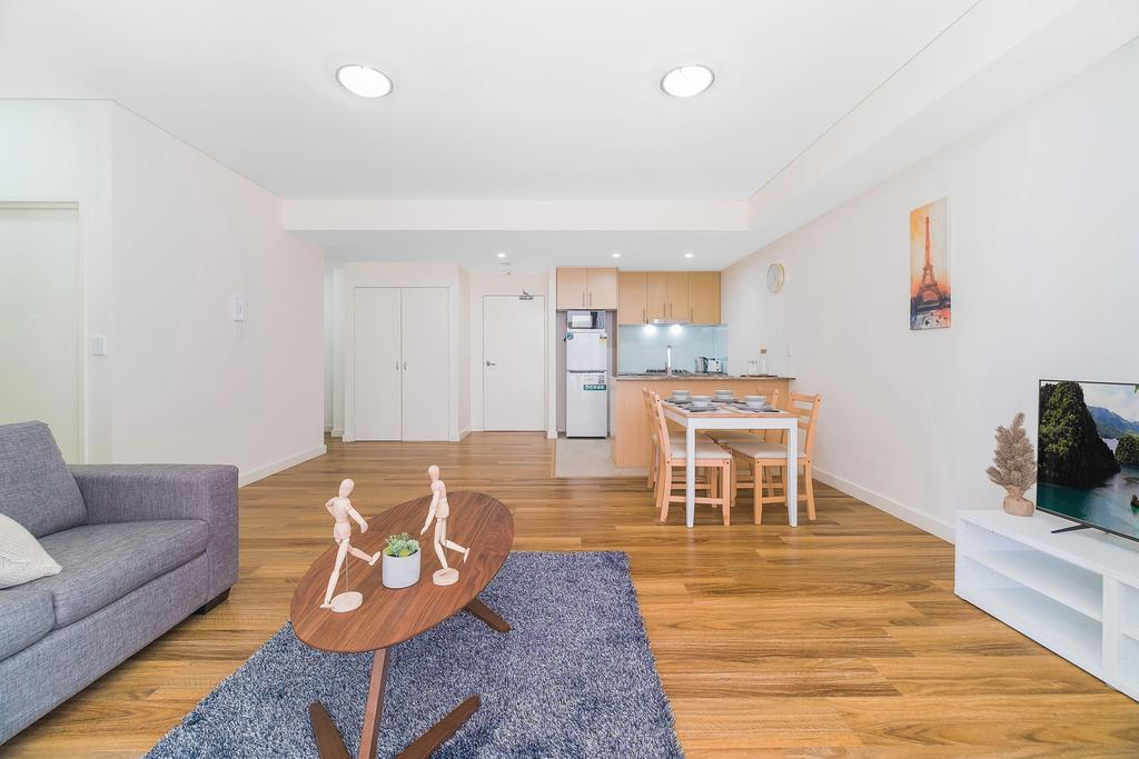 Wolli Creek Airport Serviced 2 Bedroom Apartment - Accommodation in Brisbane